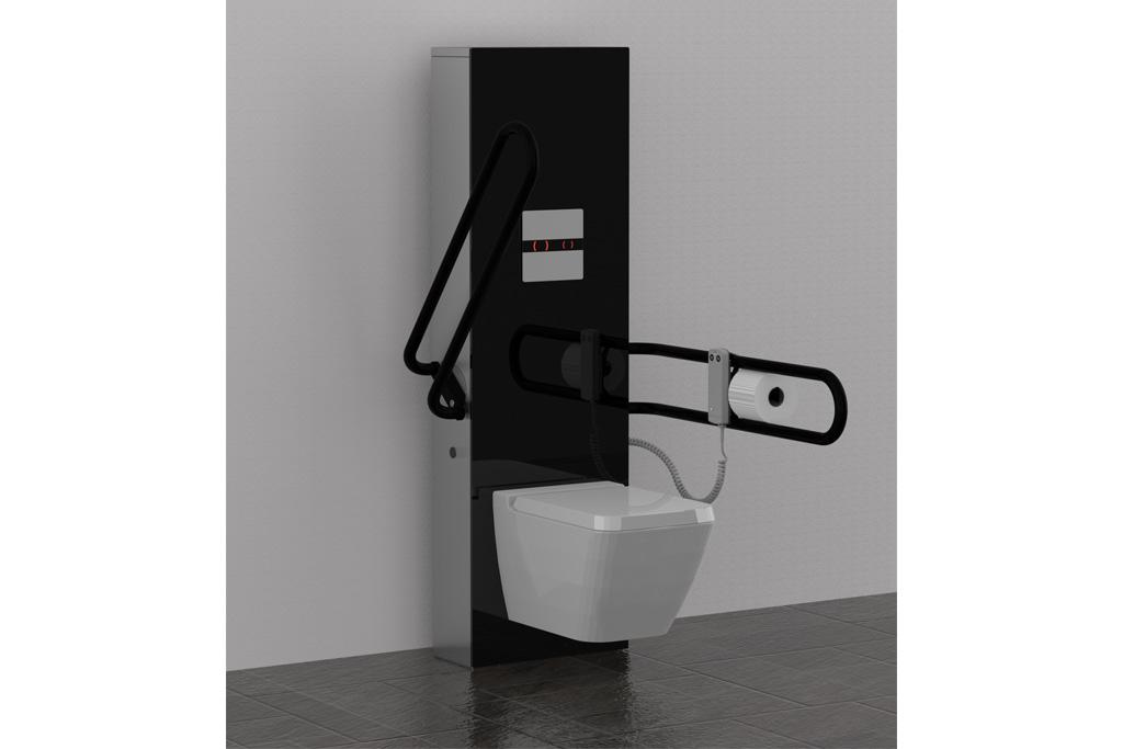 Achterwand Hangend Toilet : Hoog laag toilet pronk ergo b v