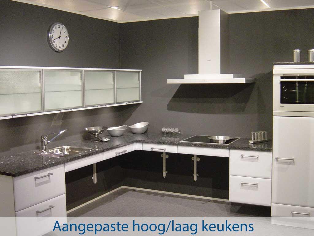 Pronk ergo - Aangepaste hoog/laag keukens