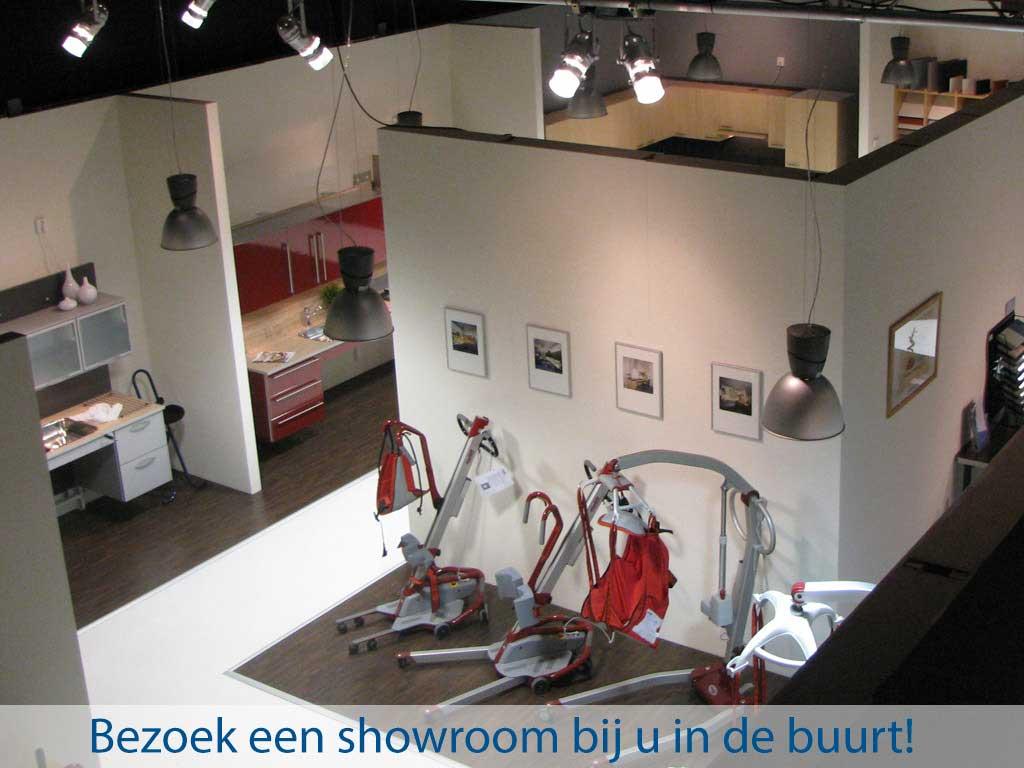 Pronk ergo - Bezoek een showroom bij u in de buurt
