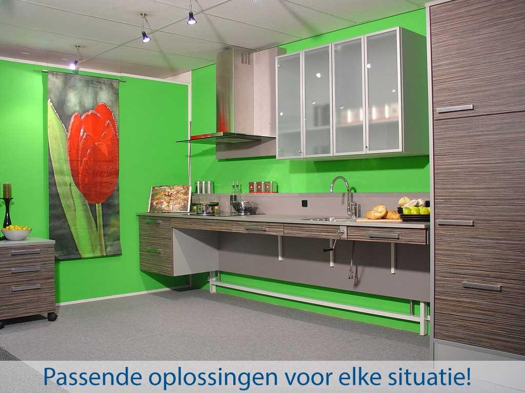 Pronk ergo - Aangepast keukens