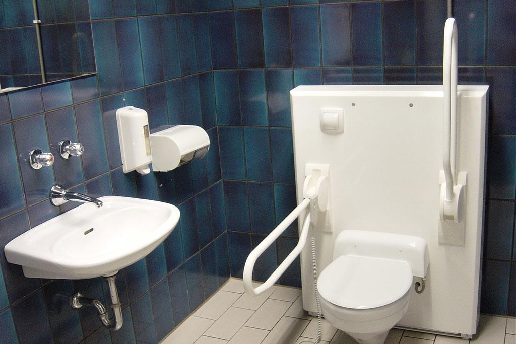 Hoog/laag toilet