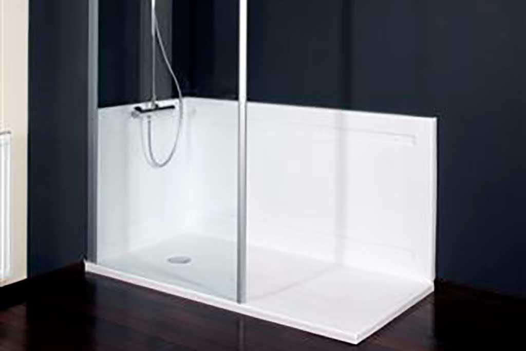 Inloopdouche Of Douchebak : Van bad naar douche in één dag pronk ergo