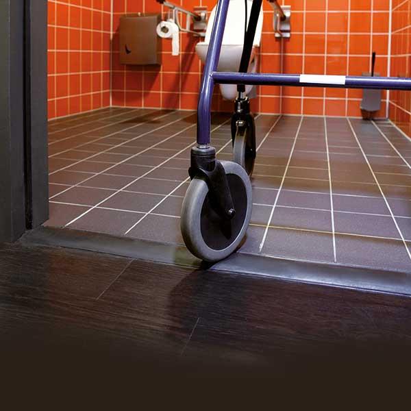 Vari-Stepp Flexibele rolstoelvriendelijke drempel