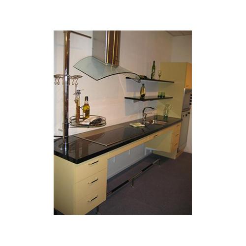 Showroomkeuken e11 pronk ergo de specialist in tilliften keukens sanitair en meubilair - Geintegreerde keuken wastafel ...