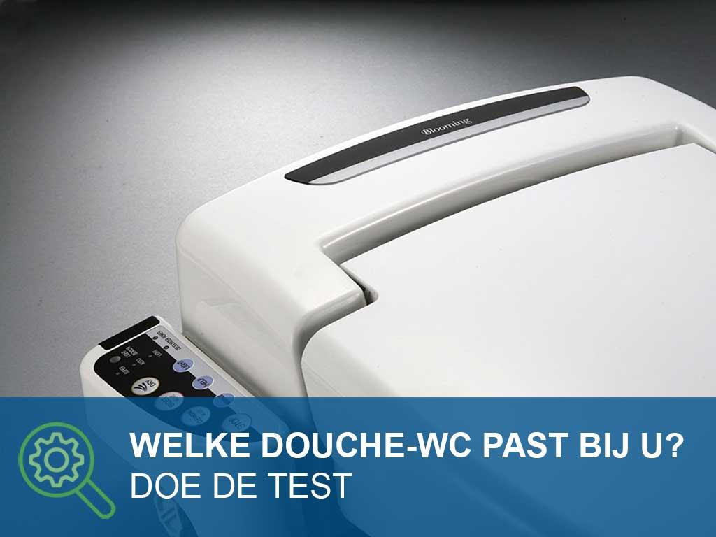 Douche-wc Test